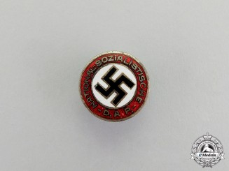 Germany. A NSDAP Membership Badge; Small Version
