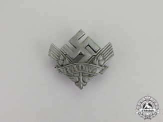 Germany. A RADwJ (Labour Service of the Reich for the Female Youth) Membership badge