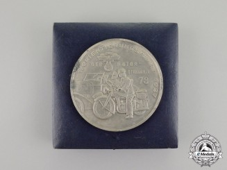 Germany, NSKK. A 1937 7th Orientation Cruise of the 78th Motor Standard Medal by Balmberger