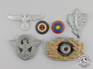 Germany. A Lot of Third Reich Period German Insignia