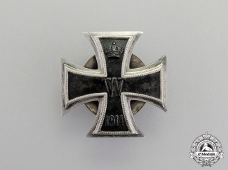 Germany. An Iron Cross 1914 First Class; Screwback Version Silver