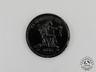 """Germany. A 1916 """"Gold for Iron"""" Medal"""