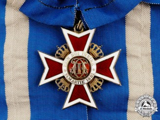 Romania, Kingdom. An Order of the Crown, 1st Class Grand Cross Badge, c.1940