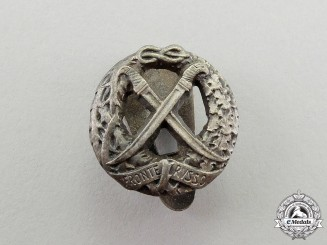 A Second War Italian Russian Front Honour Miniature Buttonhole Badge