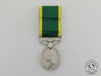 Canada. An Efficiency Medal with Canada Scroll, to Company Sergeant Major (Warrant Officer 2nd Class) C.I. Puffer, Princess of Wales' Own Regiment (Machine Gun)