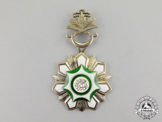 Saudi Arabia, Kingdom. An Order of Abdulaziz Al Saud, 3rd Class Breast Badge