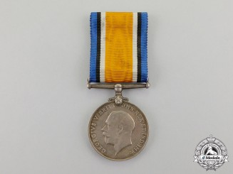 Great Britain. A War Medal to Capt.Mather, 3n Squadron, RNAS, Shot Down by PLM Recipient