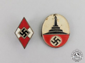 Germany. A Grouping of Two Third Reich Period Insignia