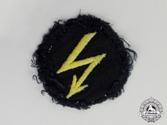 Germany. A Third Reich Period Kriegsmarine Naval Radio Operator Trade Patch