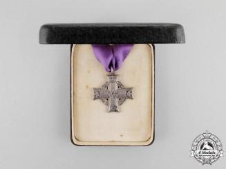 Canada. A Memorial Cross to Air Mechanic Carrick, Royal Air Force, Died of Disease