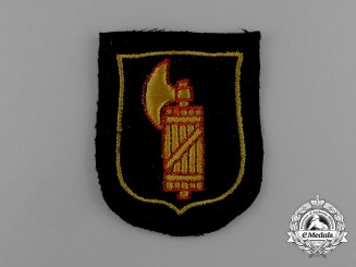 A Mint Italian Waffen-SS Foreign Volunteer Service Sleeve Insignia