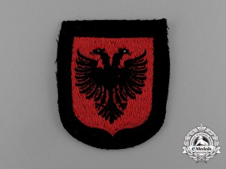 A Mint Albanian Waffen-SS Volunteer Service Sleeve Insignia