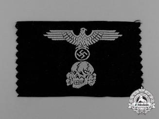 A M43 Waffen-SS Panzer Cap Insignia