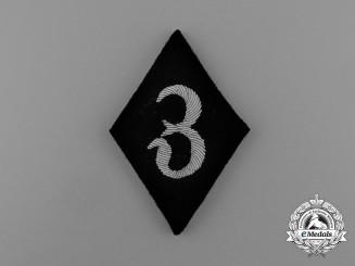 A Scarce Waffen-SS Dental Services Sleeve Diamond