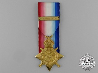 A 1914 Star to Able Seaman W.H. Anderson; RNVR Drake Battalion; Royal Naval Division
