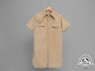 A Luftwaffe Short-Sleeved Tropical Shirt