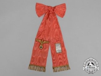 A Scarce Funeral Sash Presented by the Office of A.H for High Officials & Dignitaries