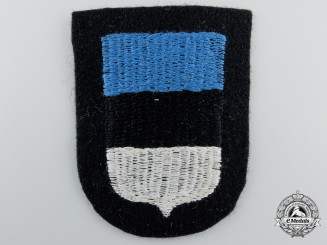 A Waffen-SS Estonian Volunteer Sleeve Shield