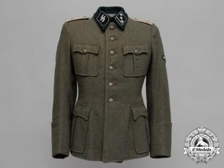 A Field Grey Waffen-SS Infantry Obersturmführer Officer's Tunic