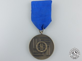 An SS-Eight Years' Service Medal by Petz and Lorenz