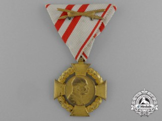 An Imperial 1848-1908 Franz Joseph Commemorative Cross