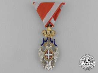A Serbian Order of the White Eagle; 4th Class Officer (1903-1941)