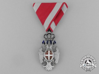 A Serbian Order of the White Eagle, 4th Class Knight (1883-1903)