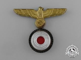 A Kriegsmarine NCO Cap Insignia