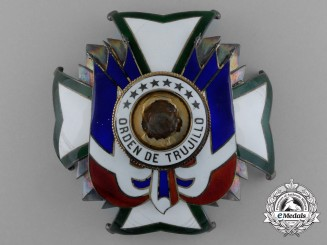 A Dominican Republic Order of Trujillo; Grand Cross Breast Star