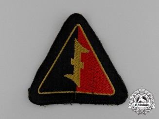 A Mint Second War Dutch NSB National Socialist Movement in the Netherlands Sleeve Insignia