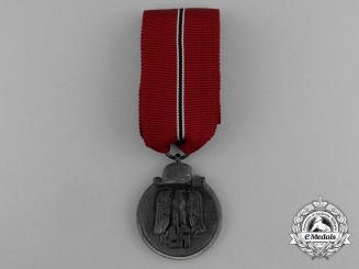 A Eastern Campaign Medal by Fritz Zimmermann of Stuttgart