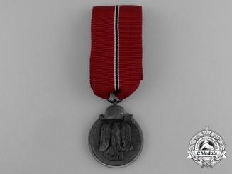 A Eastern Campaign Medal by Fritz Zimmermann of Stuttgart
