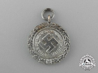 A Second War Miniature Air Defence (Luftschutz) Award for a Medal Chain