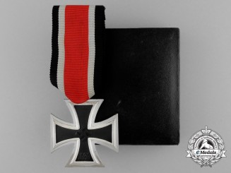 An Absolutely Mint Iron Cross 1939 Second Class in its Original LDO Case of Issue