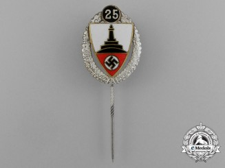 A 25-Year Kyffhäuser Veteran's Organization Stick Pin