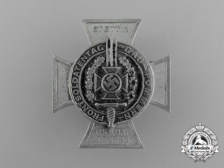 A 1935 NSKOV Settin Day of Veteran Front Soldiers Badge