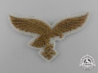 A Luftwaffe General's Breast Eagle for White Summer Tunic