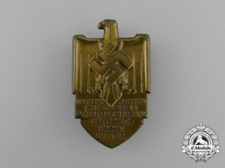 A Göttingen German Reichs Gymnastics Association Badge