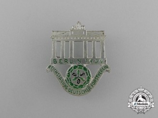 A 1939 Berlin Reichstagung of the German Forester Association Cap Badge