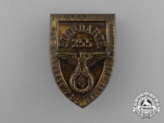 A 1933 SA Standarte 255 Rally Badge