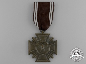An NSDAP Long Service Award for 10 Year's of Service; 3rd Class