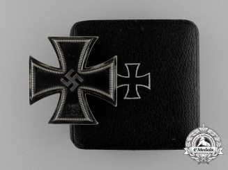 An Iron Cross 1939 First Class by Klein & Quenzer in its Original Case of Issue