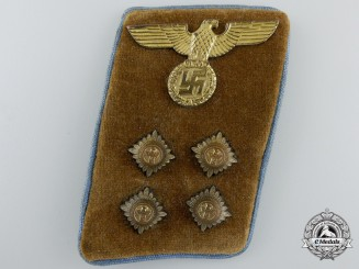 An NSDAP Local (Orts) Level GemeinschaftsLeiter (Community Leader) Collar Tab