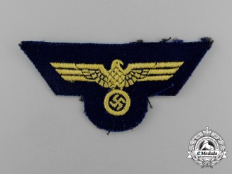 A Kriegsmarine NCO's Breast Eagle