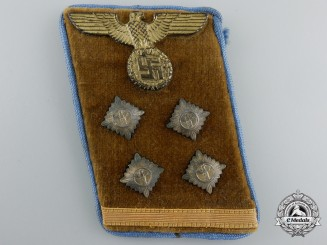 An NSDAP Local (Orts) Level OberGemeinschaftsLeiter (Head Community Leader) Collar Tab
