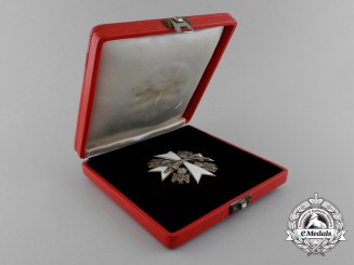 A Second Class Order of the German Eagle with Swords by Godet & Co. in its Original Case of Issue