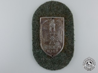 An Army Issued Cholm Shield