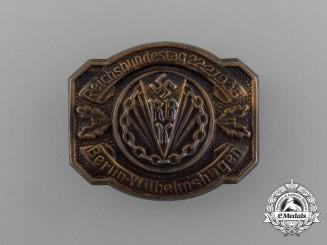 A 1935 Berlin-Wilhelmshagen Reichsbundestag Badge