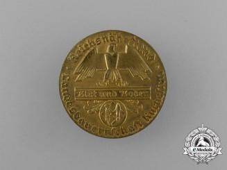 A Reichsnährstand Blood and Soil Kurhessen National Association of Farmers Badge