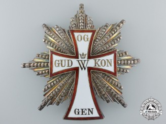 A 1892 Danish Order of Dannebrog; Grand Cross Star c.1890